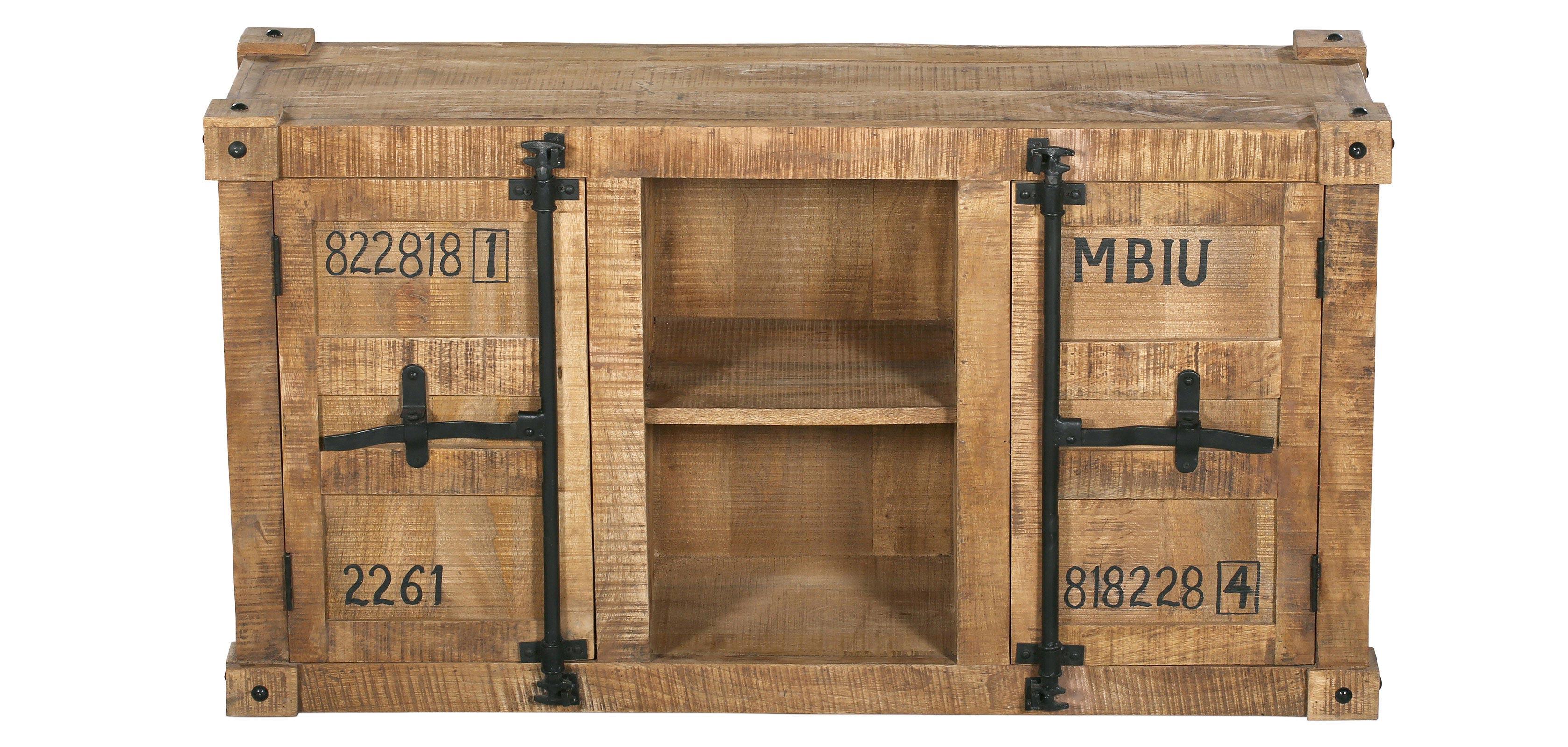 Aparador industrial de madera tunk - Aparador industrial ...