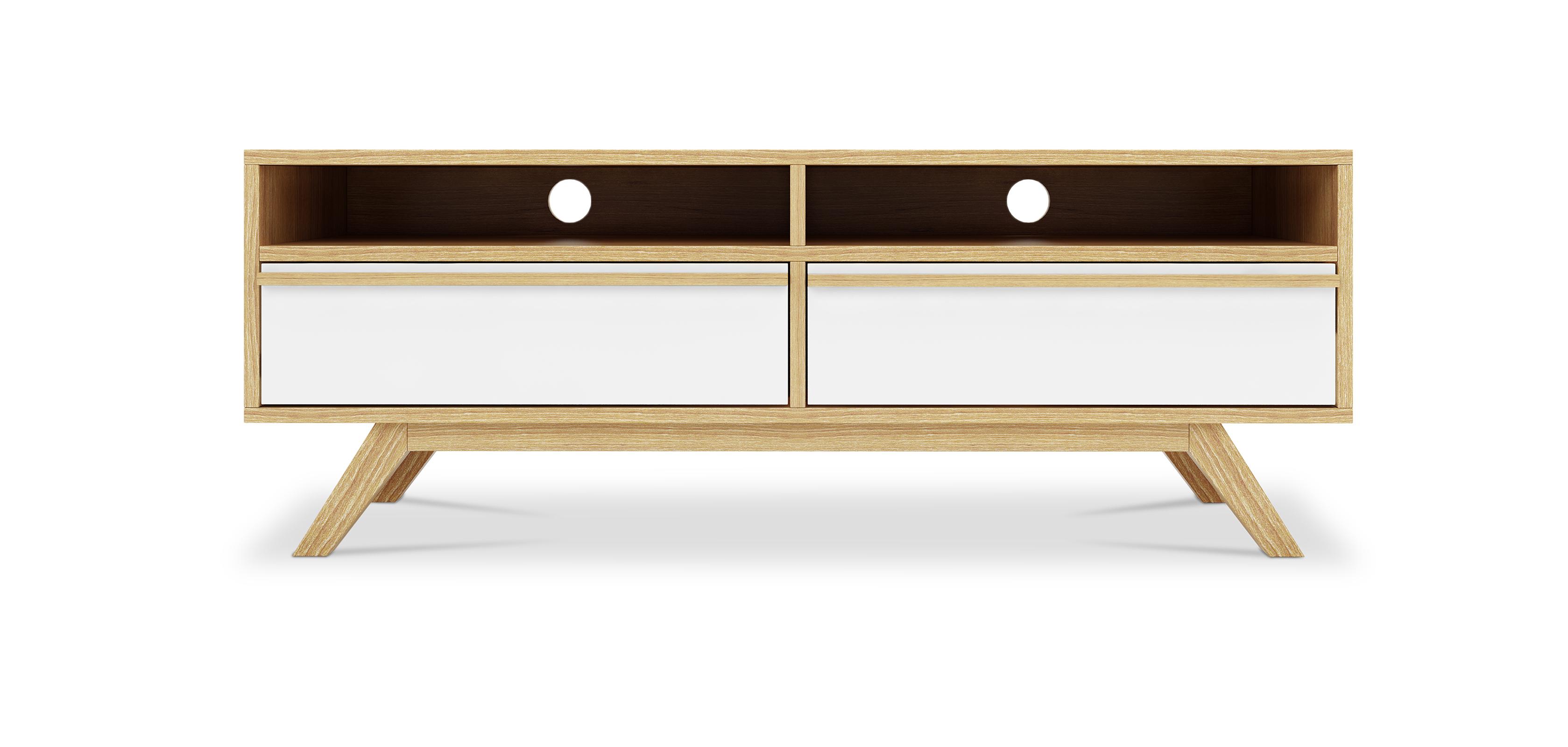 Mueble tv estilo escandinavo best n madera for Mueble tv estilo nordico