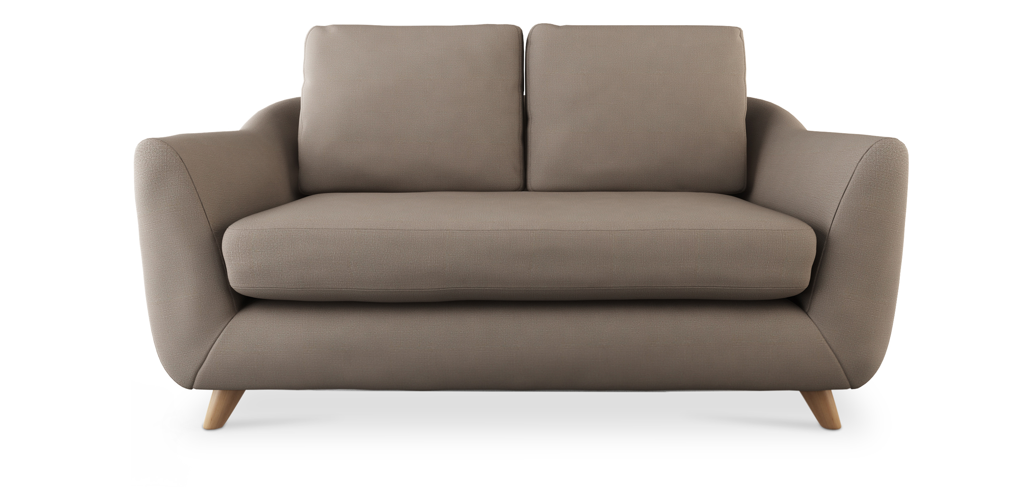 Sof estilo escandinavo de tela - Sofa escandinavo ...