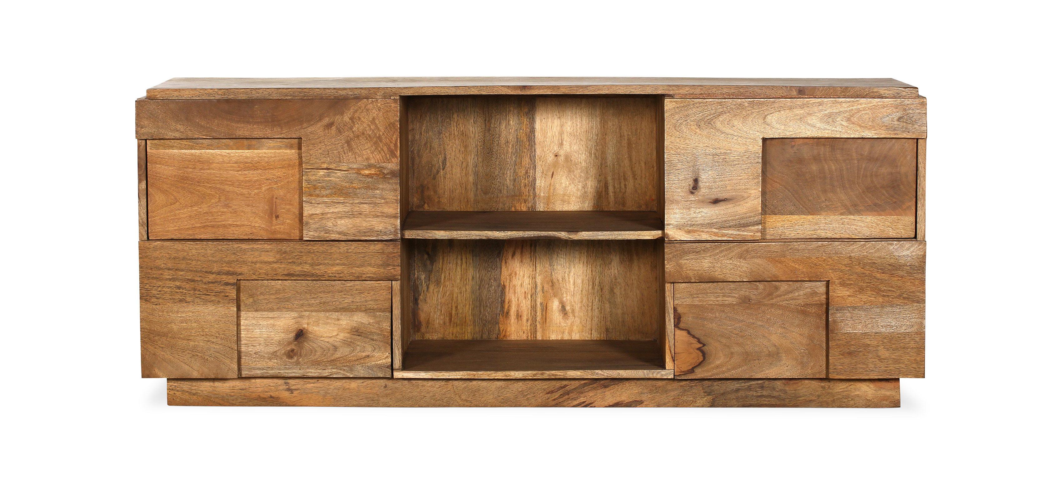 Mueble Tv madera de mango